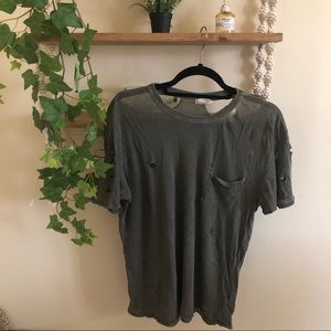 URBAN OUTFITTERS Distressed Tee
